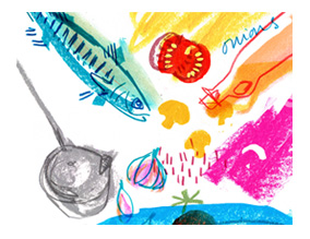 Fish Stew Illustration