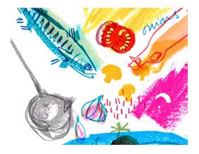Fish Stew Illustration