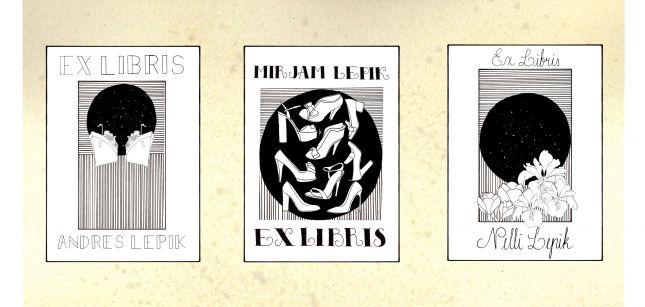 Assignment 5: EX LIBRIS x 3