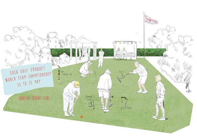 Assignment 4: Reportage - World Golf Croquet Championship