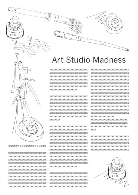 Assignment 1A - Art Studio Madness