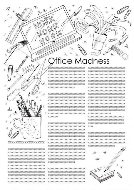 Assignment 1A - Office Madness