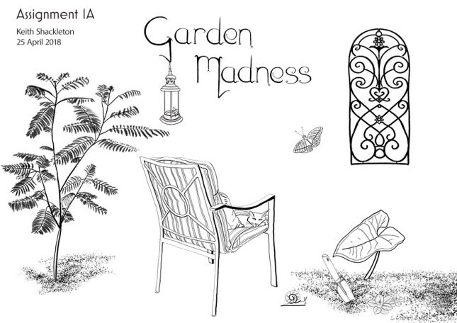 Garden madness by Keith Shackleton