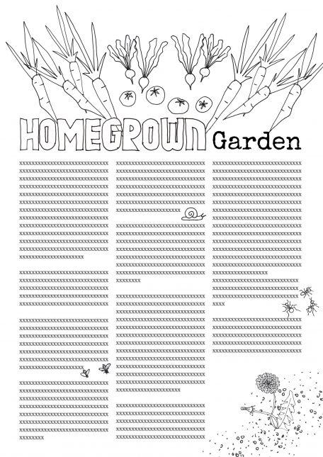 Homegrown garden