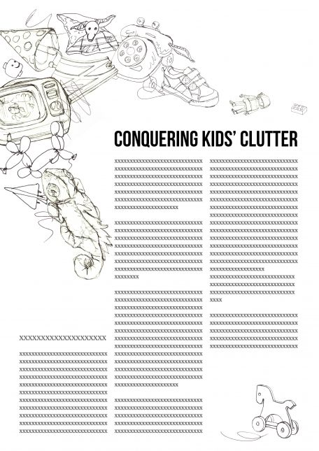 Assignment 1A: Conquering Kid's Clutter