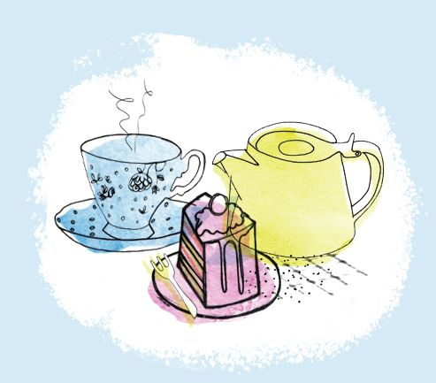Assignment 2- Just my cuppa tea in colour