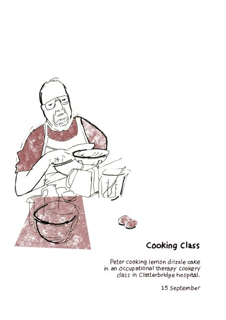 Reportage - cooking class