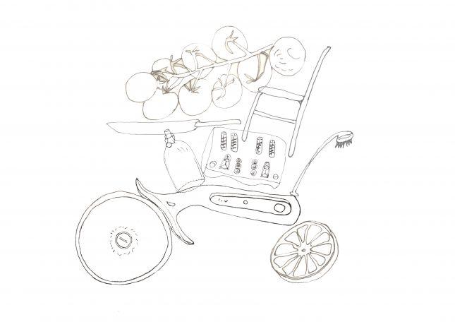 A kitchen on wheels