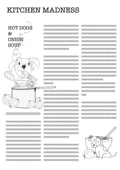 Hot Dogs & Onion Soup