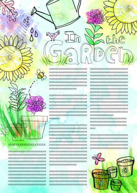In the Garden - Magazine Article