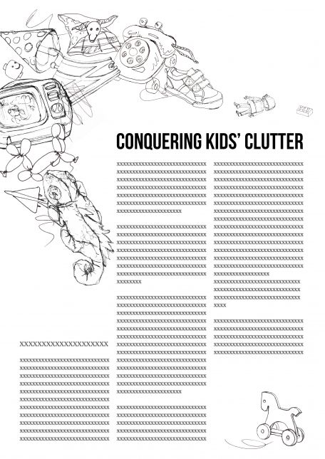 Assignment 1A: Conquering Kid's Clutter - Take 2!