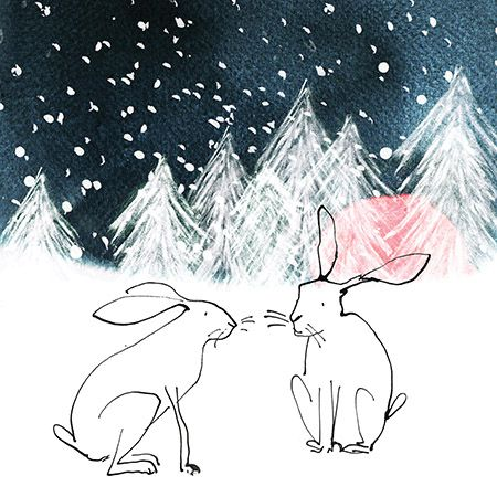 Woodland hares