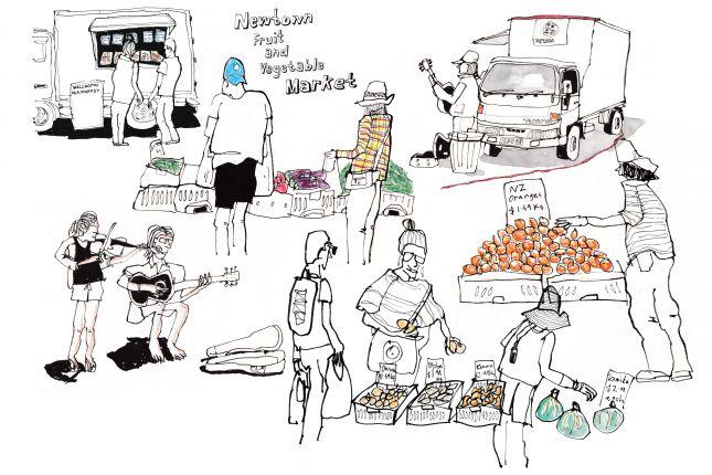 Assignment 4 - Reportage. Newtown Fruit & Vege Market