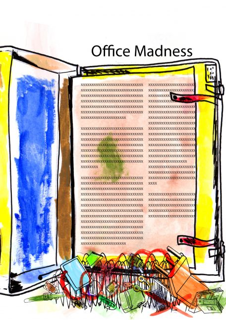 Office Madness in Technicolor