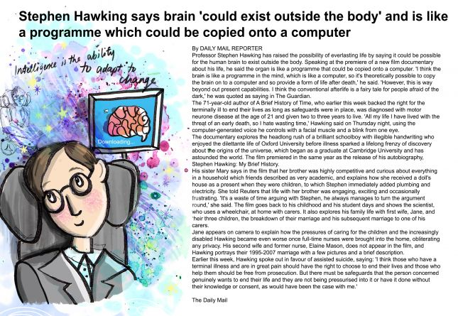Stephen Hawking - Internet Article