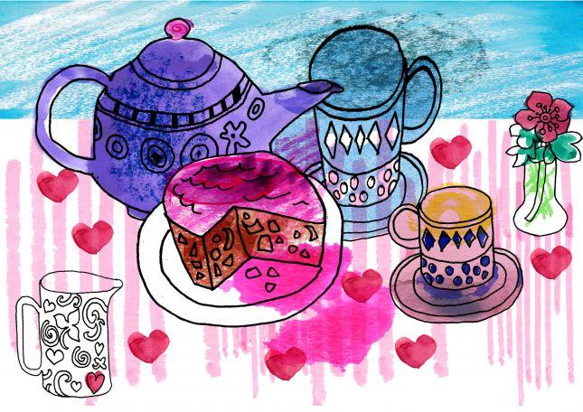 Colour Tea Time