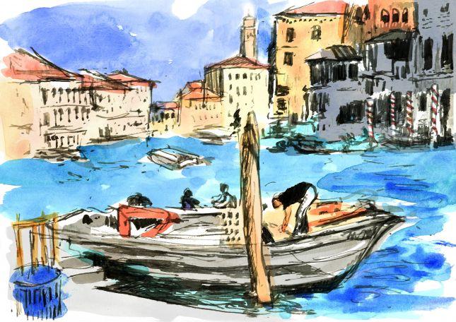 Venice stevedore
