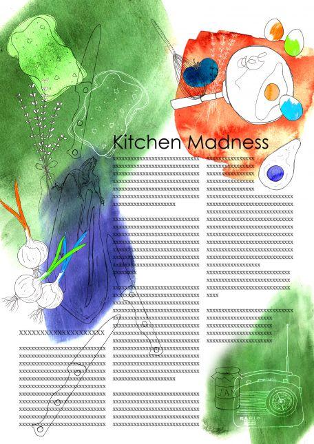 Colour Magazine Page