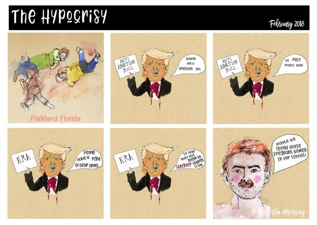 The Hypocrisy Comic