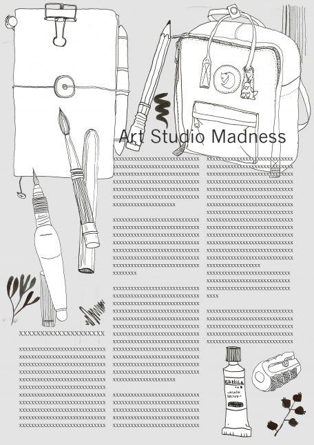 Art Studio Madness