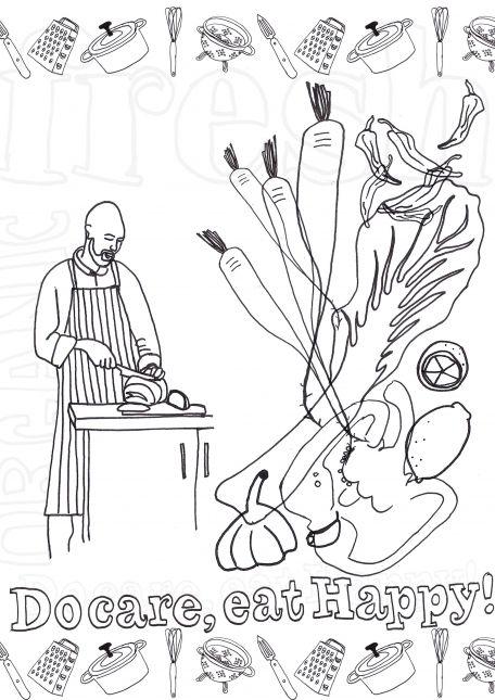 Composition 1 - Eat Happy :)