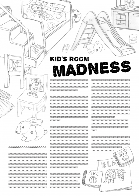 Kid's room composition