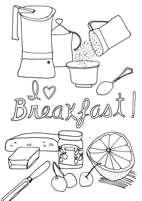 Week 1 - Composition 1 - Breakfast
