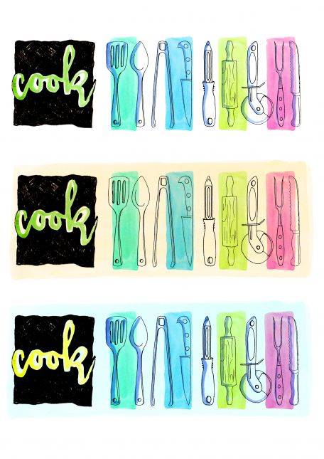 Cook! week two utensils three styles