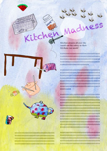 Kitchen Madness Colour