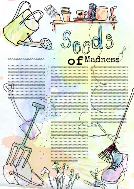 Seeds of madness article with coloured illustration