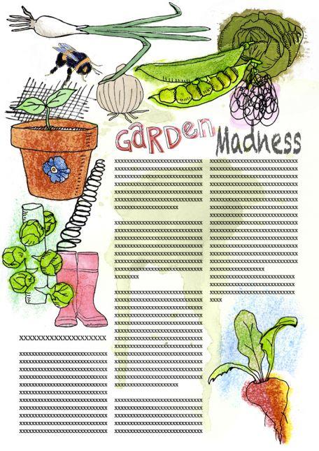 Garden Madness Coloured