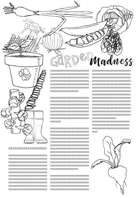 Garden Madness Composition