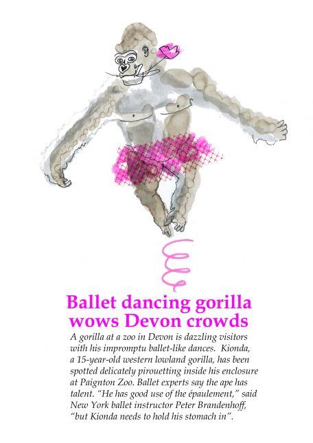 Ballet Dancing Gorilla