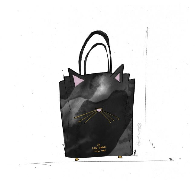 Retail Therapy - Cat bag