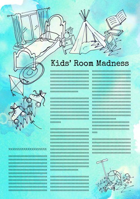 Kids room madness colour