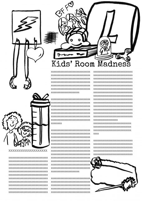 Kids'RoomMadness