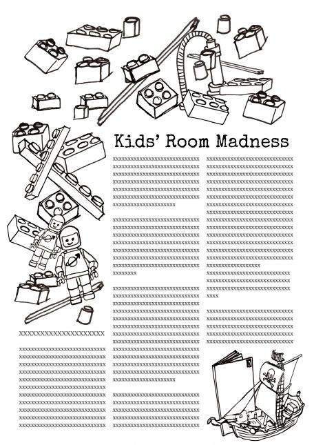 Kid's room madness