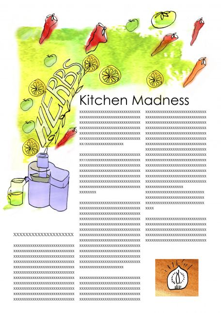Juiced - kitchen madness assignment 1