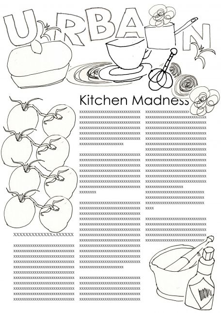 Kitchen Madness Design