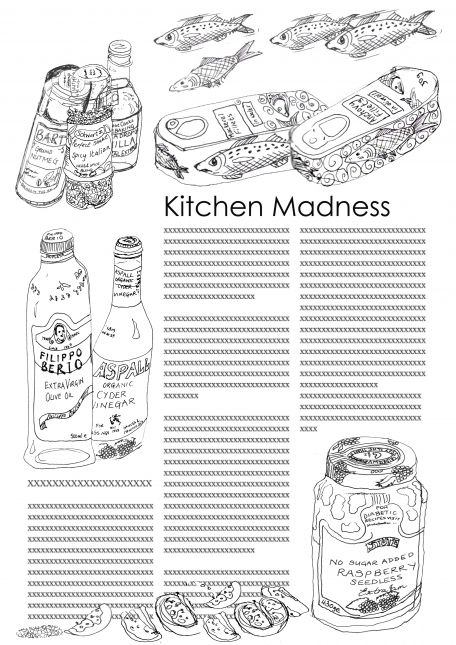 Kitchen Madness with fish