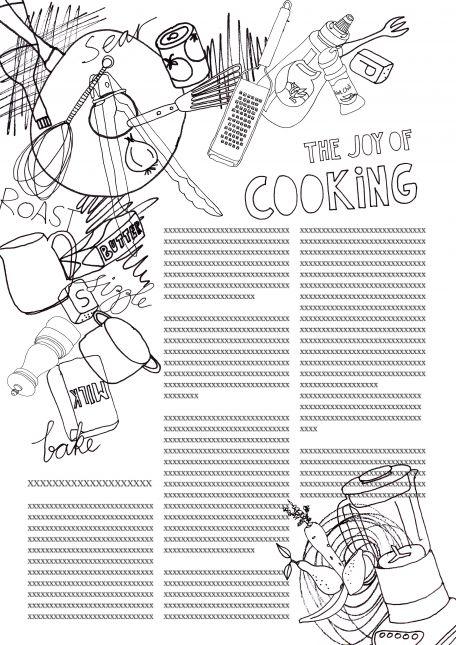 Kitchen Madness layout - Class Ungerer