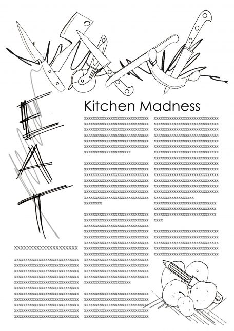 Week one Kitchen Madness