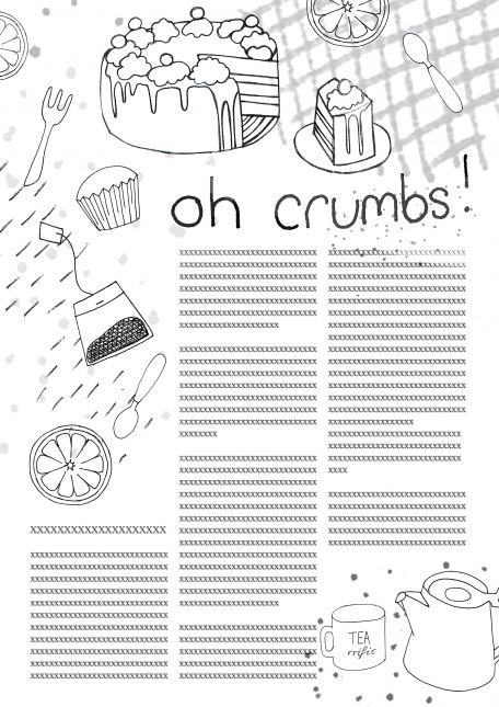Assignment 1A- 'Oh crumbs!'