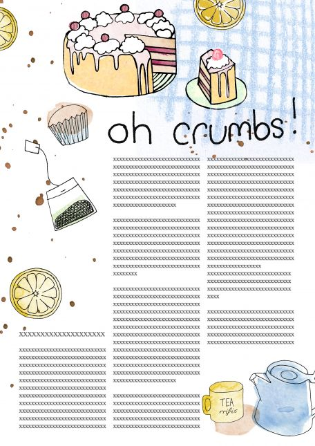 Assignment 2- 'Oh Crumbs' in colour