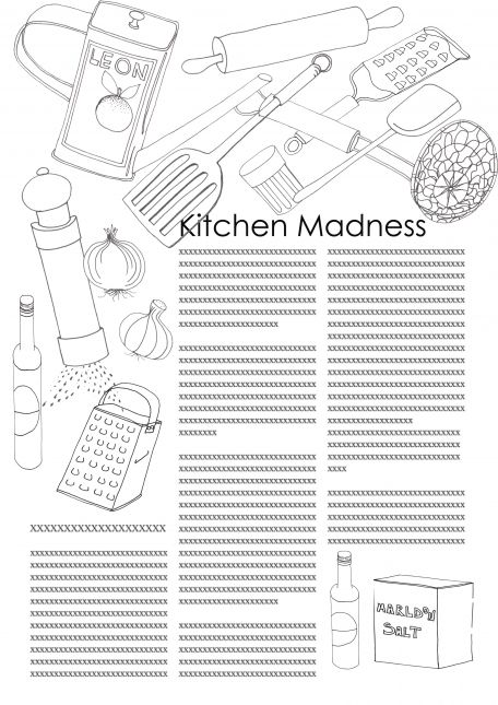kitchen madness- Linda Fox