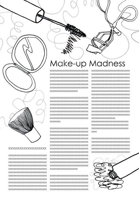 Makeup Madness Week 1 Top-up 1