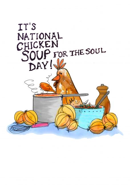 It's National Chicken Soup for the Soul Day!!