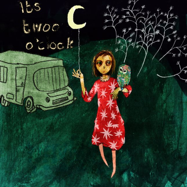'early bird' illustration from my motorhome travel blog