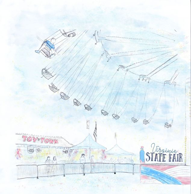Reportage illustration - State Fair