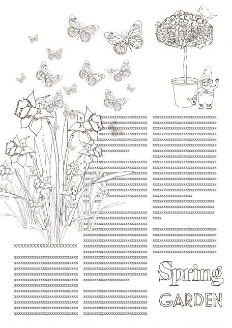 Week 1A: Spring Garden Madness.